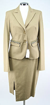 TAILLEUR CON GONNA DONNA art.3601 1350 Tg.46 col.BEIGE SCONTO 50% made in italy