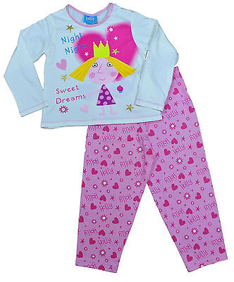 Ben and Holly's Little Kingdom Girls  Long Pyjamas 2 to 5 Years