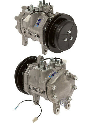 NEW AC A/C Compressor Fits: John Deere Tractors Windrowers W / Denso 6E171  1Gr