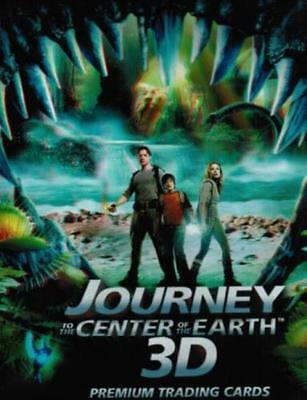 Inkworks Journey to the Center of the Earth 3D Card Binder New Album Looseleaf