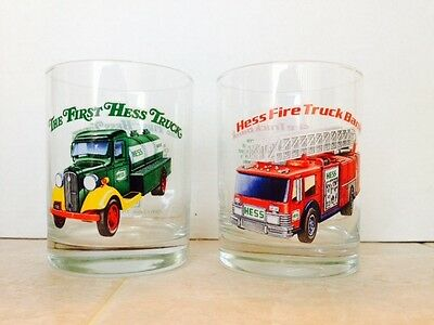 Hess Truck  Glasses Set Of 2 - 1996