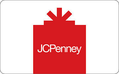 $10 / $25 / $50 JCPenney Gift Card - Mail Delivery