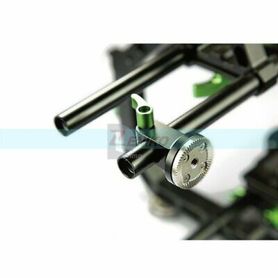 Lanparte 15mm Single Rod Clamp with Arri Rosette Lock for DSLR EVF