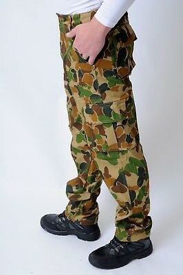 Men's Camouflage Army Military Trousers. Combat Cargo casual camping trousers