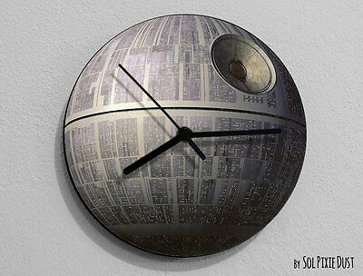 Death Star - Star Wars Wall Clock