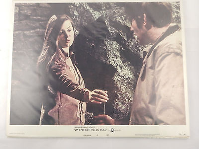 WHEN 8 BELLS TOLL by Cinerama Releasing Corporation Lobby Card 3 Cards 1971