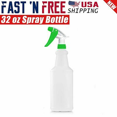 32 Oz Professional Plastic Trigger Spray Bottle for Commercial Cleaning Nozzle