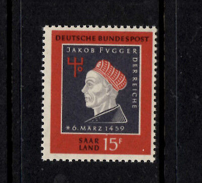 (Ref-6177) Saar 1959 500th Birth Anniversary of Fugger SG.442 Mint (MNH)