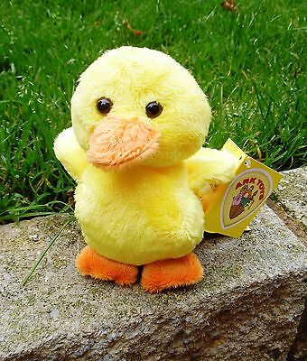 """YELLOW BABY CHICK-4.5""""(12cms) QUALITY SOFT TOY (with beans) from ARK TOYS-NEW"""