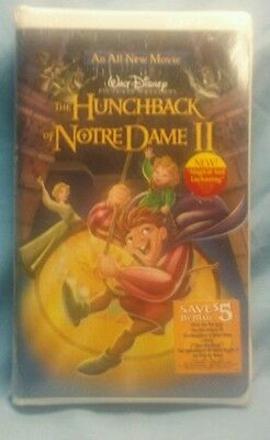 FACTORY SEALED! The Hunchback of Notre Dame II (VHS, 2002)