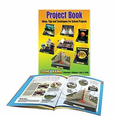 Woodland Scenics Project Book 84 Pages Diorama School Projects Model Railway