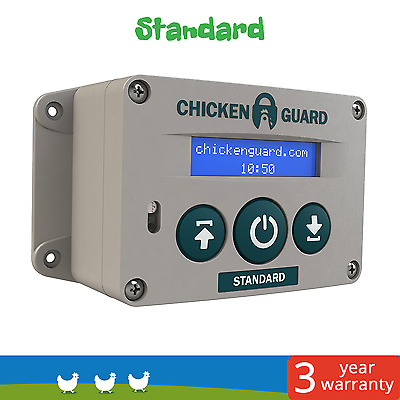Chickenguard Automatic Door Opener Standard for Hen Houses/Poultry Coops