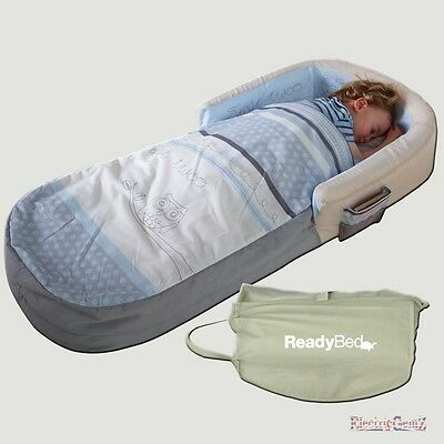 My First ReadyBed - Sleepy Time Owl Generic Design with Pump & Integral Bag