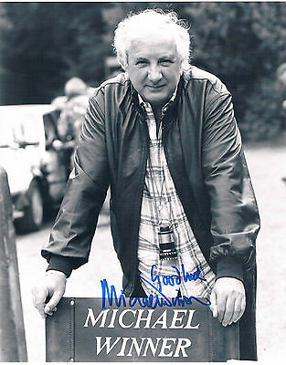 Michael Winner - Film Director Death Wish Hand Signed Photograph 10 x 8