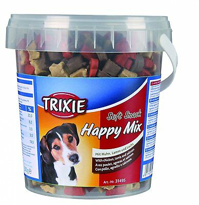Soft Snack Happy Mix - 500g Tub - Training treats