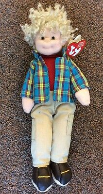 Rugged Rusty Teenie Beanie Boppers Doll Tag
