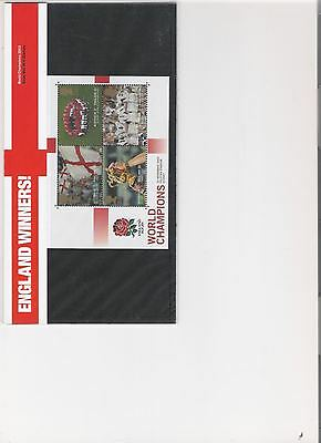 2003 Royal Mail Presentation Pack Rugby World Cup Winners Mini Sheet
