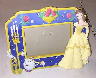 Disney Store - Beauty and the Beast - Belle - Ceramic Picture Photo Frame - NIB