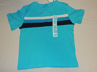 New Toddler Size 5T Short Sleeve Shirt Blue Striped Circo Brand
