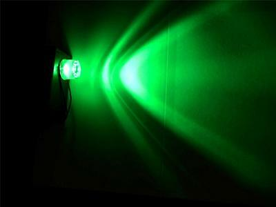 GREEN Battery Operated LED Flood light for Halloween props and Haunted Houses