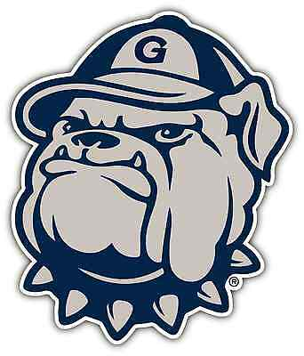 "Georgetown Hoyas University College NCAA Car Bumper Vinyl Sticker Decal 4""X5"""