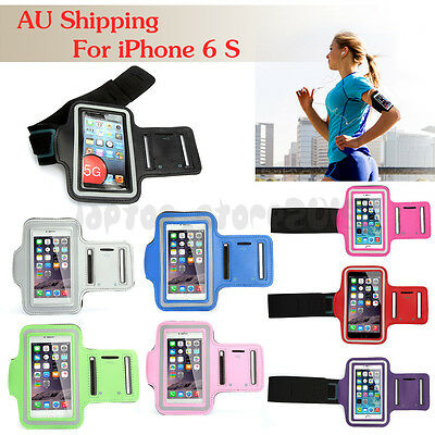 For Apple iPhone 6 S Premium Sports Running Gym Armband Case Cover AU shipping
