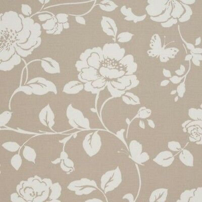 Clarke and Clarke Meadow Taupe Designer Curtain Upholstery Fabric