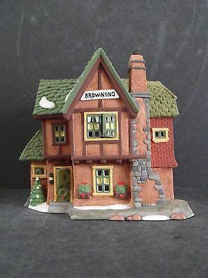 """Dept 56 Dicken's Village """"browning Cottage"""" - #58246 - New In Box"""