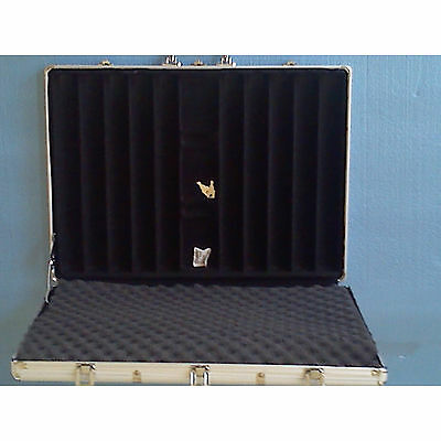 1 Poker Chip Case 1000 chip capacity heavy gauge aluminum