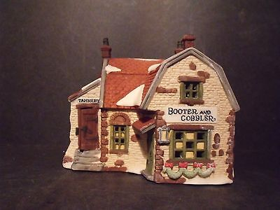 """Dept 56 Dicken's Village """"booter And Cobbler"""" - #59242 - New In Box"""