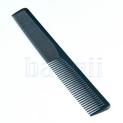 Unisex Unbreakable Hair Comb Mens Pocket Salon Barber Hairdresser Black Combs MA