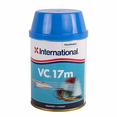 International VC17m Antifouling 0,75L Motorboot Segelboot Graphit