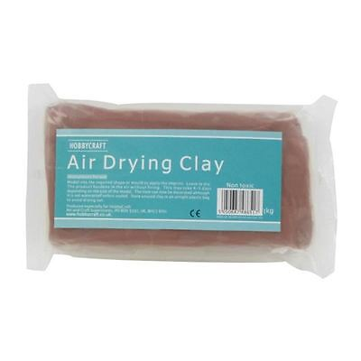 Air Drying Clay 1 kg Non-Toxic Art Craft Modelling Moisture Model Making