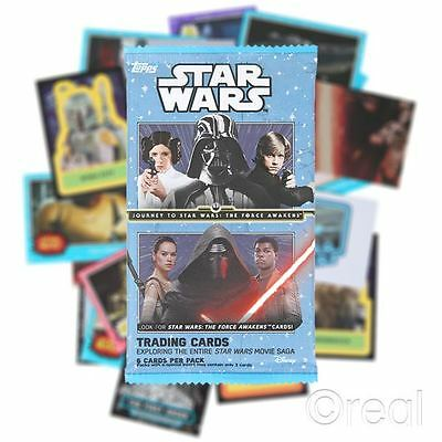 New 1 5 Or 10 Packs Journey to Star Wars VII: The Force Awakens Trading Cards