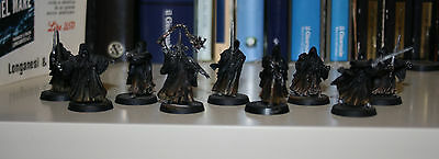 NAZGUL AND RINGWRAITHS SPETTRI DELL'ANELLO PAINTED - Lord of the Rings