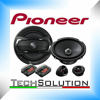 Pioneer TS-A172ci Kit 2 Vie 165 mm Altoparlanti Woofer Casse Auto
