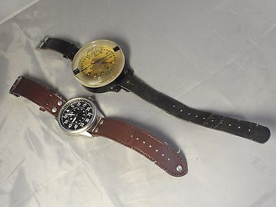 Late German WWII Luftwaffe Kadlec AK-39 Fl 23235-1 Wrist Compass Original