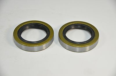 (Qty 2) 34823 12192TB Double Lip Seals for 2000lb Trailer Axles BT8 Spindle