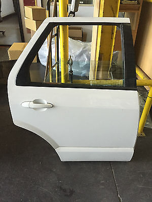 Ford Territory Sy Sr Wagon Complete Right Rear Door - Painted White
