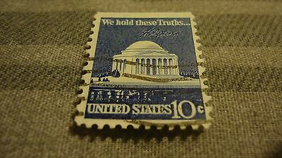We Hold These Truths United States 10 Cent Postage Stamp Used