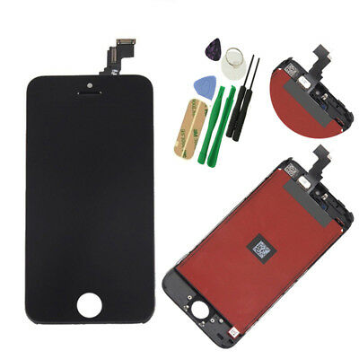 Apple iPhone 5C Black LCD Display Touch Screen Digitizer Assembly Replacement