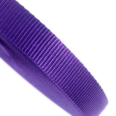 25mm Purple Webbing Rolls Polyproplene 440kg Straps and Lashing