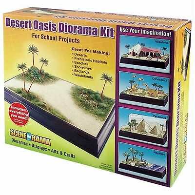Woodland Scenics Desert Oasis Diorama Kit for Model Railways School Project