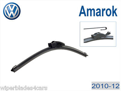 Volkswagen Amarok 2010-12 Flexible Windscreen Wiper Blades (PAIR)