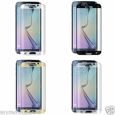 SAMSUNG GALAXY S6 S6 S7 S8 EDGE PLUS FULL COVER Tempered Glass Screen Protector