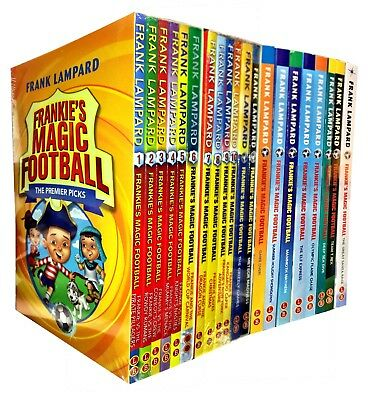 Frankies Magic Football Series 20 Books Collection Set by Frank Lampard Team T