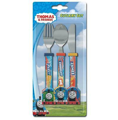 Spearmark Thomas and Friends Childrens 3 Piece Cutlery Set Age 3 +  Patern TNS