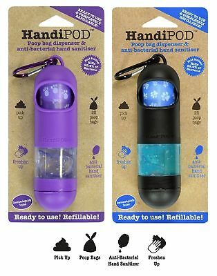 HandiPOD - Poop Bag Dispenser & Hand Sanitiser