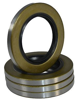 (Qty 4) 10-19 171255TB Double Lip Seals for 3500lb Trailer Axles #84 Spindle
