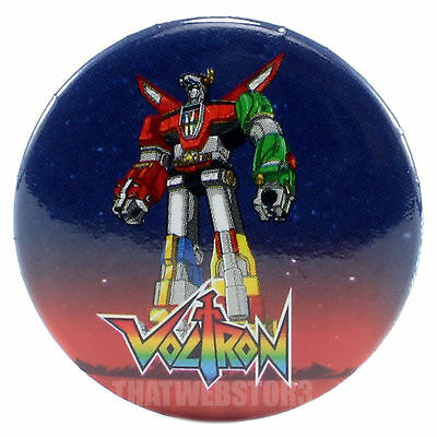 "Voltron 1.25"" Button ~ Officially Licensed ~ BRAND NEW"